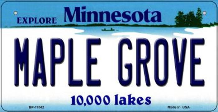 Maple Grove Minnesota Novelty Metal Bicycle Plate BP-11042