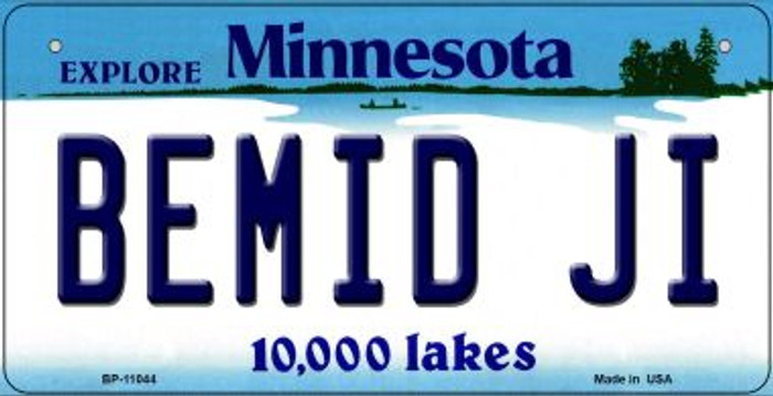 Bemid Ji Minnesota Novelty Metal Bicycle Plate BP-11044