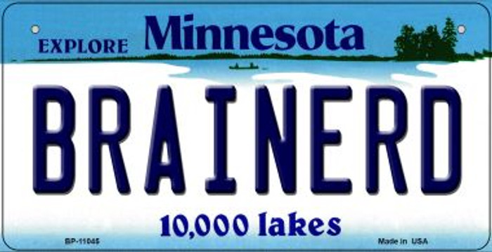 Brainerd Minnesota Novelty Metal Bicycle Plate BP-11045