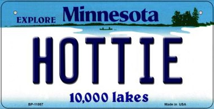 Hottie Minnesota Novelty Metal Bicycle Plate BP-11057