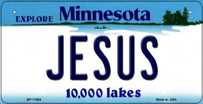 Jesus Minnesota Novelty Metal Bicycle Plate BP-11064