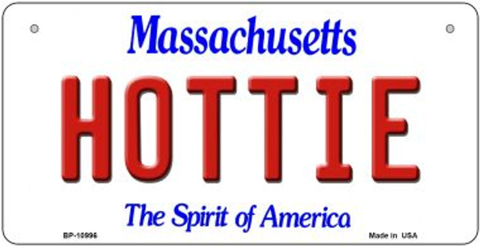 Hottie Massachusetts Novelty Metal Bicycle Plate BP-10996