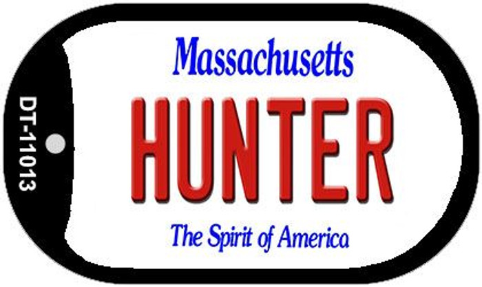 Hunter Massachusetts Novelty Metal Dog Tag Necklace DT-11013