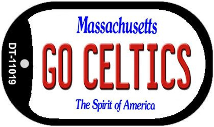 Go Celtics Massachusetts Novelty Metal Dog Tag Necklace DT-11019