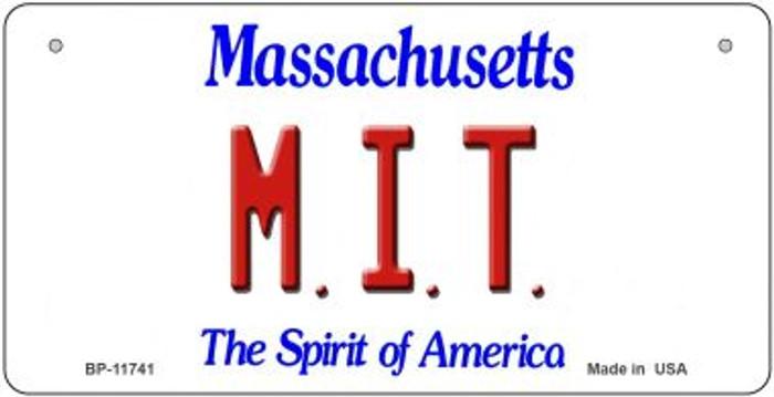 MIT Massachusetts Novelty Metal Bicycle Plate BP-11741