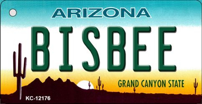 Bisbee Arizona Novelty Metal Key Chain KC-12176