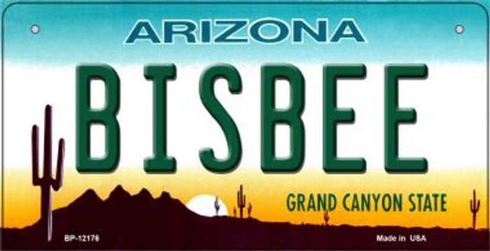 Bisbee Arizona Novelty Metal Bicycle Plate BP-12176