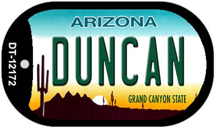 Duncan Arizona Novelty Metal Dog Tag Necklace DT-12172