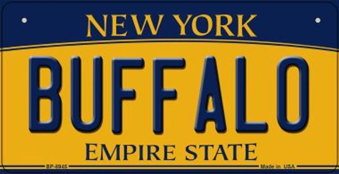 Buffalo New York Novelty Metal Bicycle Plate BP-8945