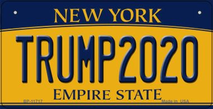 Trump2020 New York Novelty Metal Bicycle Plate BP-11717