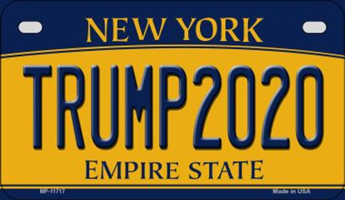 Trump2020 New York Novelty Metal Motorcycle Plate MP-11717