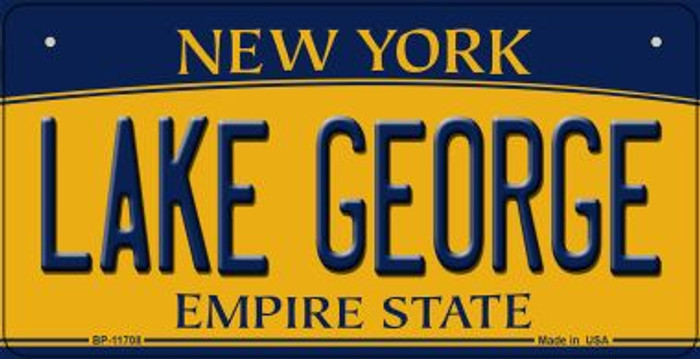 Lake George New York Novelty Metal Bicycle Plate BP-11708