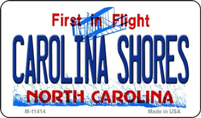 Carolina Shores North Carolina Novelty Metal Magnet M-11414