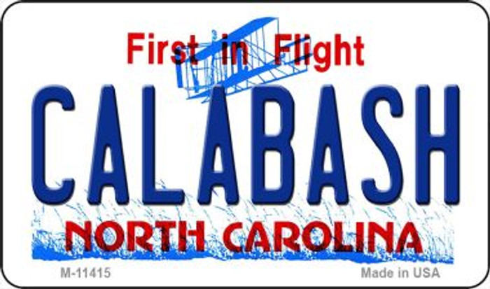 Calabash North Carolina Novelty Metal Magnet M-11415