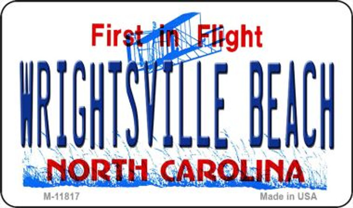 Wrightsville Beach North Carolina Novelty Metal Magnet M-11817