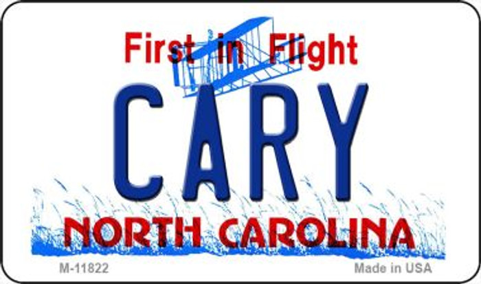Cary North Carolina Novelty Metal Magnet M-11822