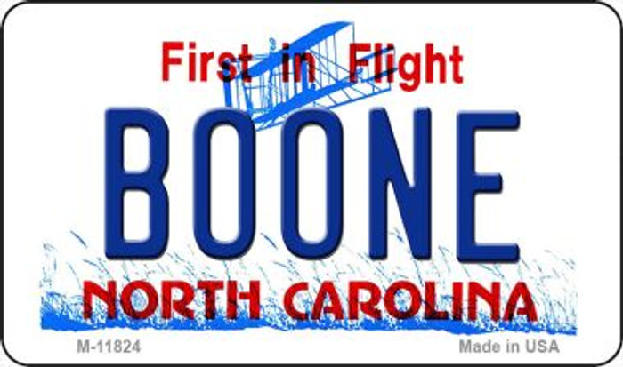 Boone North Carolina Novelty Metal Magnet M-11824