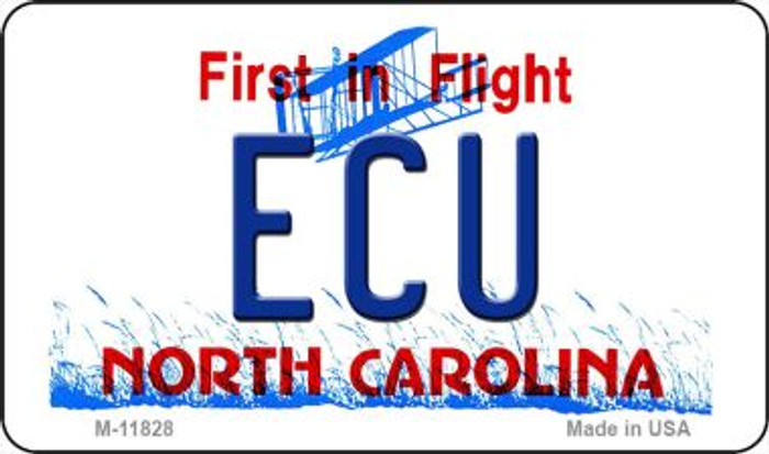 ECU North Carolina Novelty Metal Magnet M-11828