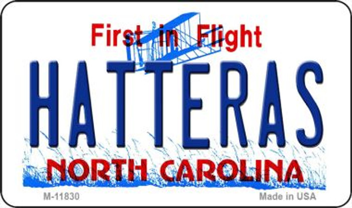 Hatteras North Carolina Novelty Metal Magnet M-11830