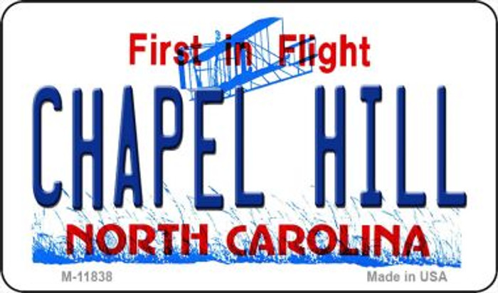 Chapel Hill North Carolina Novelty Metal Magnet M-11838