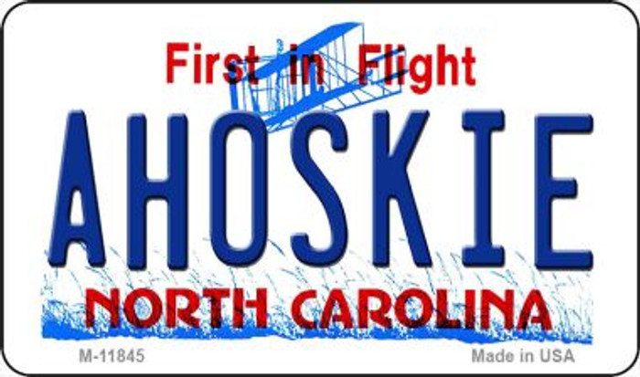Ahoskie North Carolina Novelty Metal Magnet M-11845