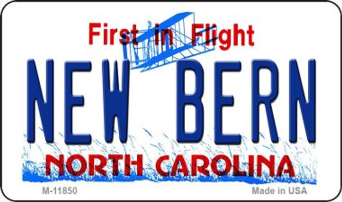 New Bern North Carolina Novelty Metal Magnet M-11850