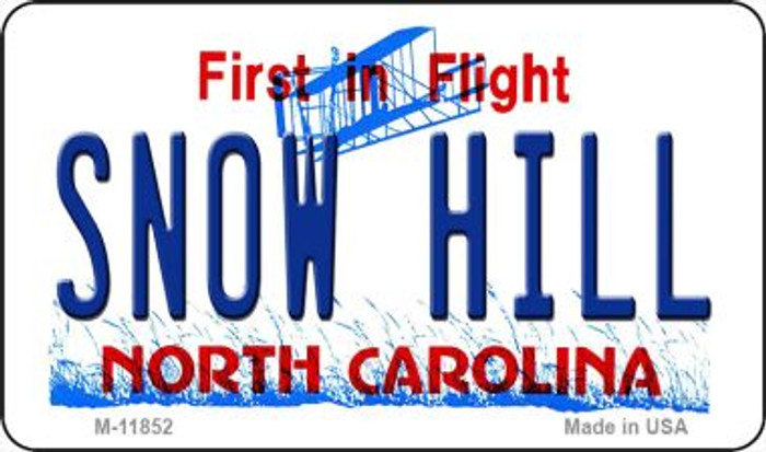 Snow Hill North Carolina Novelty Metal Magnet M-11852