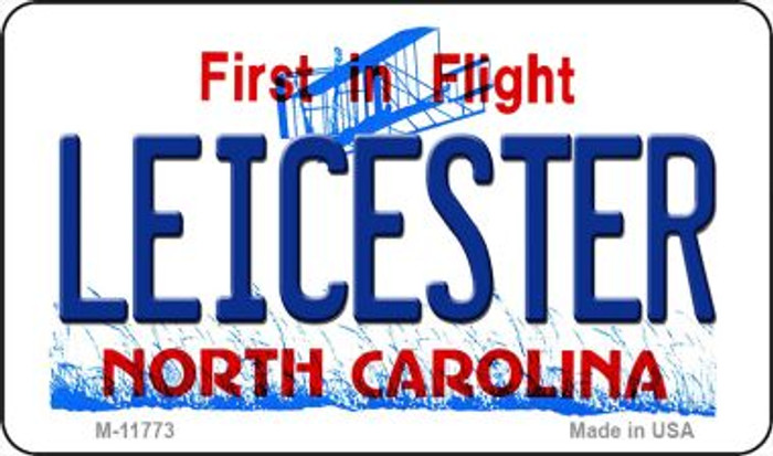 Leicester North Carolina Novelty Metal Magnet M-11773