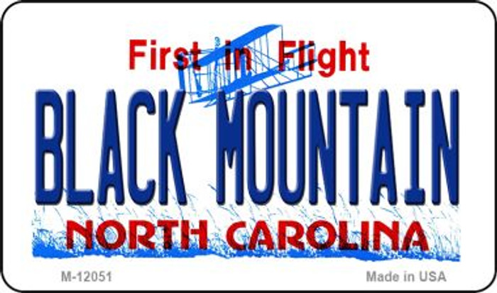 Black Mountain North Carolina Novelty Metal Magnet M-12051