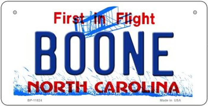 Boone North Carolina Novelty Metal Bicycle Plate BP-11824