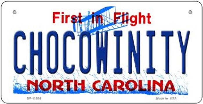 Chocowinity North Carolina Novelty Metal Bicycle Plate BP-11854