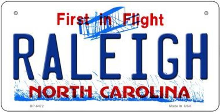Raleigh North Carolina Novelty Metal Bicycle Plate BP-6472