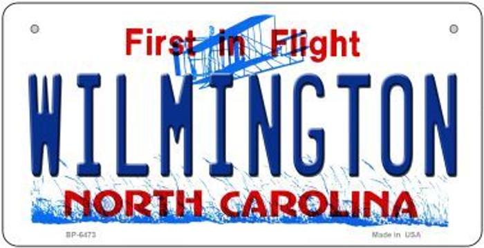 Wilmington North Carolina Novelty Metal Bicycle Plate BP-6473