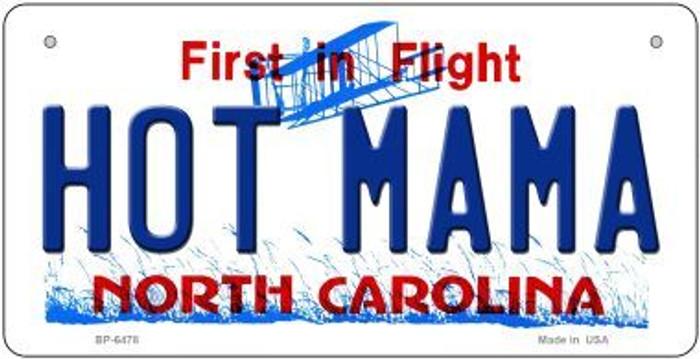 Hot Mama North Carolina Novelty Metal Bicycle Plate BP-6478