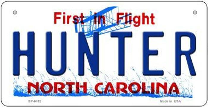 Hunter North Carolina Novelty Metal Bicycle Plate BP-6482