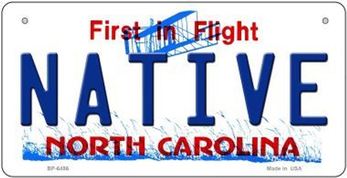 Native North Carolina Novelty Metal Bicycle Plate BP-6486