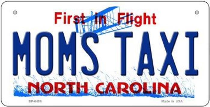 Moms Taxi North Carolina Novelty Metal Bicycle Plate BP-6488