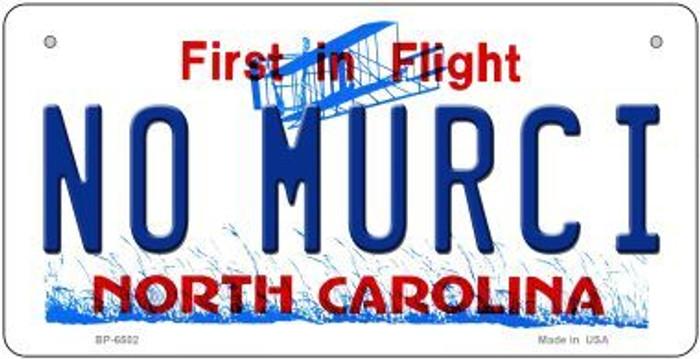No Murci North Carolina Novelty Metal Bicycle Plate BP-6502