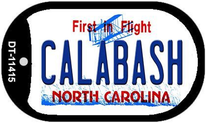 Calabash North Carolina Novelty Metal Dog Tag Necklace DT-11415