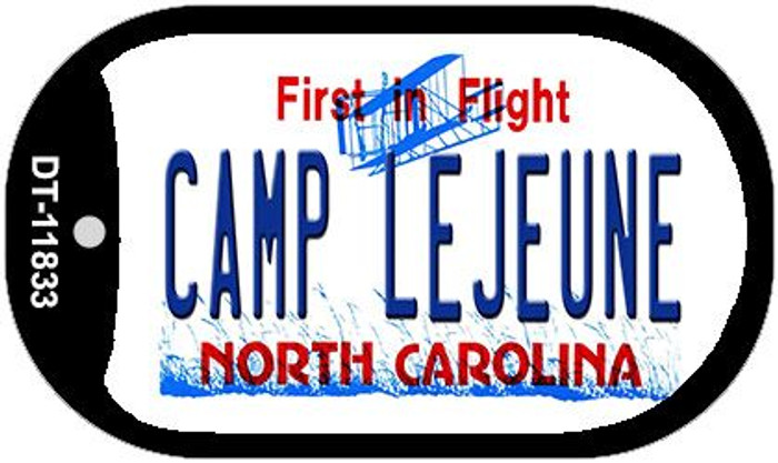 Camp Lejuene North Carolina Novelty Metal Dog Tag Necklace DT-11833