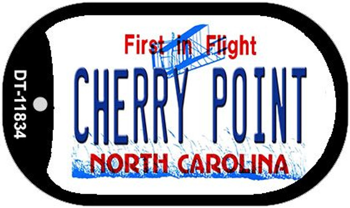 Cherry Point North Carolina Novelty Metal Dog Tag Necklace DT-11834