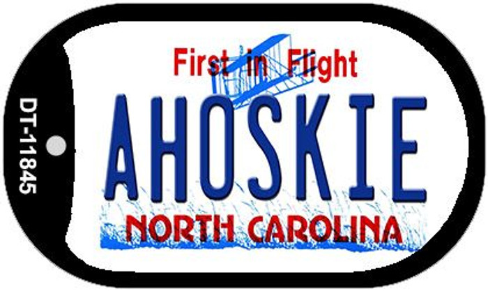 Ahoskie North Carolina Novelty Metal Dog Tag Necklace DT-11845