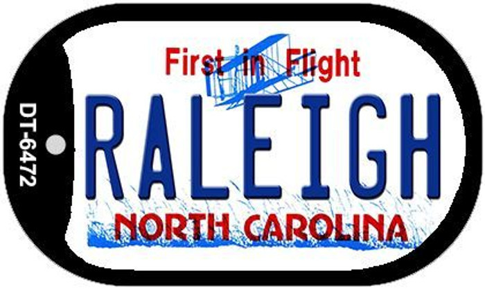 Raleigh North Carolina Novelty Metal Dog Tag Necklace DT-6472
