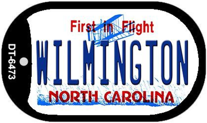 Wilmington North Carolina Novelty Metal Dog Tag Necklace DT-6473