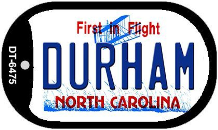 Durham North Carolina Novelty Metal Dog Tag Necklace DT-6475