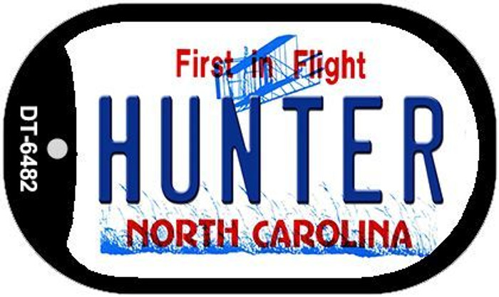 Hunter North Carolina Novelty Metal Dog Tag Necklace DT-6482