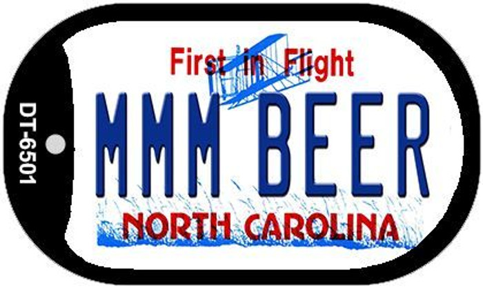 MMM Beer North Carolina Novelty Metal Dog Tag Necklace DT-6501