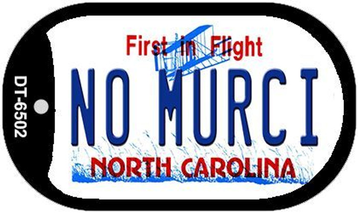 No Murci North Carolina Novelty Metal Dog Tag Necklace DT-6502