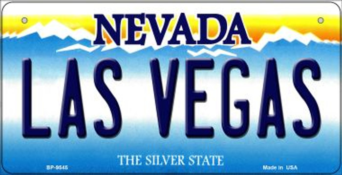 Las Vegas Nevada Novelty Metal Bicycle Plate BP-9545