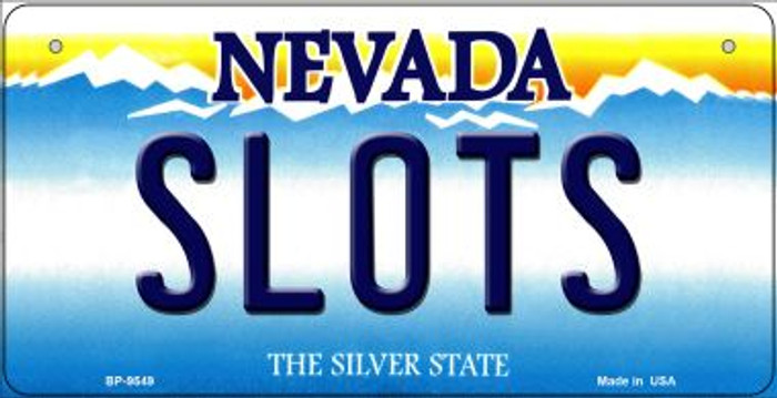 Slots Nevada Novelty Metal Bicycle Plate BP-9549
